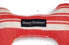 画像2: 【Harry Barker】ヘンプ ストライプボーン - RED (2)