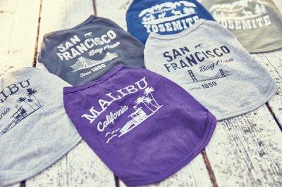 画像1: 【 California Vintage 】犬服 タンクトップ Malibu