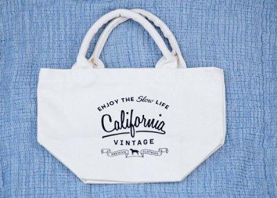 画像1: 【 California Vintage 】コットンバッグ