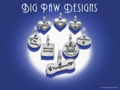 画像1: 【Big Paw Designs】ドッグチャーム Fetch What