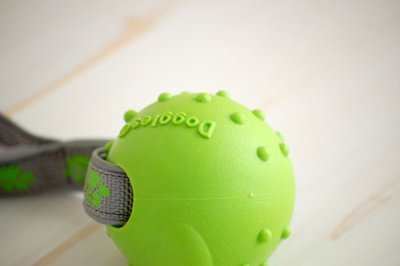 画像1: 【DOGGLES】Rope Ball - Green