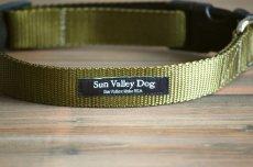 画像5: 【Sun Valley】 New ウェブカラー首輪 Olive (5)