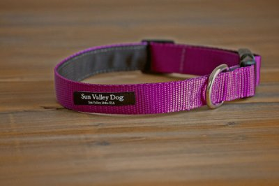 画像2: 【Sun Valley】 New ウェブカラー首輪 Purple