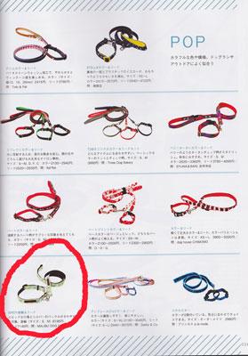 愛犬グッズ&ファッション2011 犬用首輪