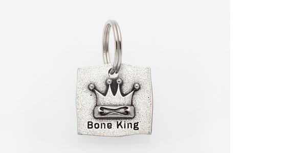 画像1: 【Big Paw Designs】ドッグチャーム Bone King (1)