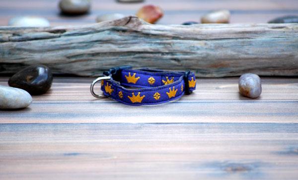 画像1: 【earth dog】小型犬専用 XS ヘンプカラー jewel (1)
