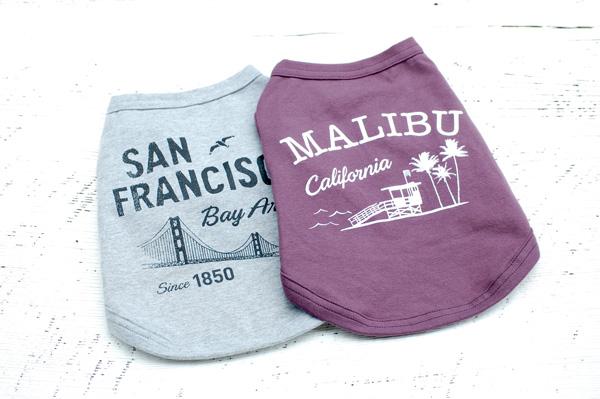 画像: 飼い主も着たくなる犬服、California Vintage